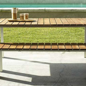 Contemporary Outdoor Dining Table from Design Within Reach – the Deneb patio table