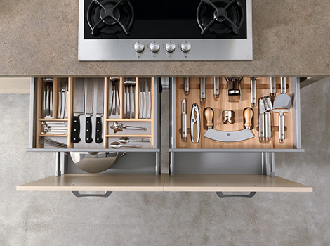 easy kitchen drawer treo