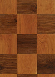 ebony chequerboard flooring walnut cherry Chequerboard wood flooring by Ebony   handcrafted solid wood floors