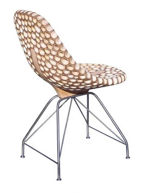 eco friendly furniture sakhalin knotweed chair 2 Eco Friendly Furniture by Flohr Design