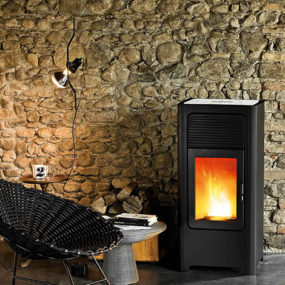 Eco Friendly Pellet Stoves by MCZ – Cube stove series