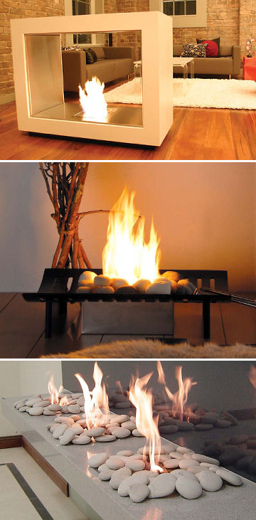 EcoSmart fireplace by EcoGreen Fire – a ventless fireplace that is green