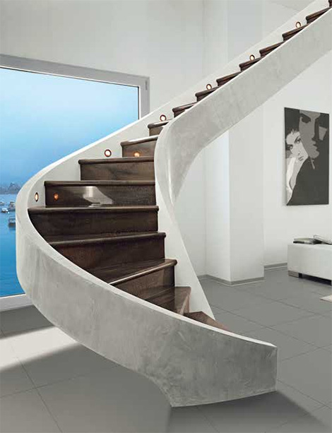 Decorative Staircases – classic contemporary staircase designs, ideas, pictures from Edilco
