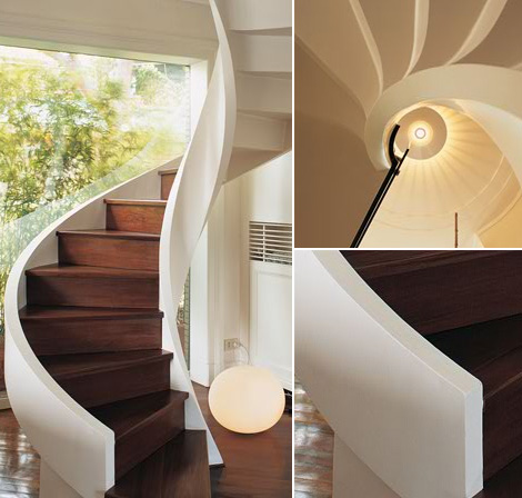 edilco contemporary decorative staircases 11