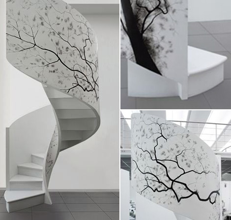 edilco contemporary decorative staircases 13