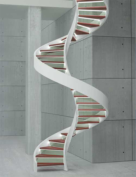 edilco contemporary decorative staircases 3