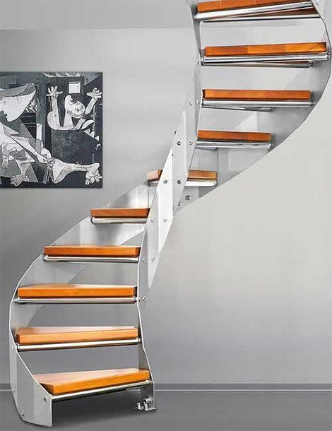 edilco contemporary decorative staircases 4