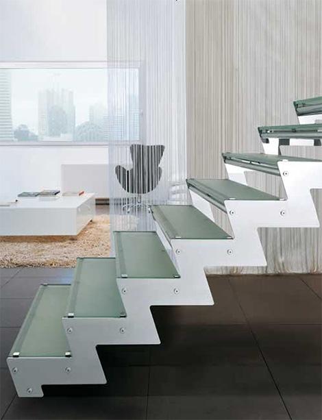 edilco contemporary decorative staircases 6