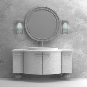 Marble Tops Art Deco Vanities by Edone (Agoragroup)