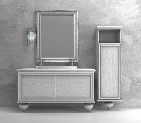 edone vanity icaro Marble Tops Art Deco Vanities by Edone (Agoragroup)