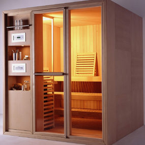 All-in-one Sauna – Logica and Master Sauna lines from Effegibi