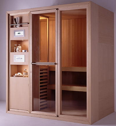 effegibi sauna logica1 All in one Sauna   Logica and Master Sauna lines from Effegibi
