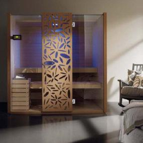 Finnish Sauna Design by Effegibi – new Sky decorative sauna