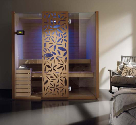 effegibi sauna sky 1 Finnish Sauna Design by Effegibi   new Sky decorative sauna