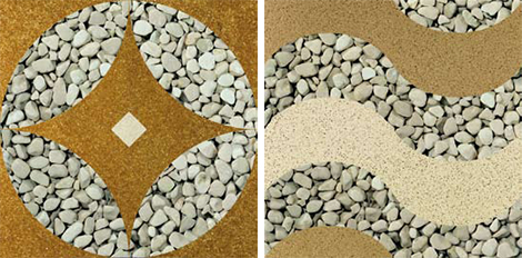 effepimarmi river stone design samples Riverstone Floor Design Inspirations by Effepimarmi