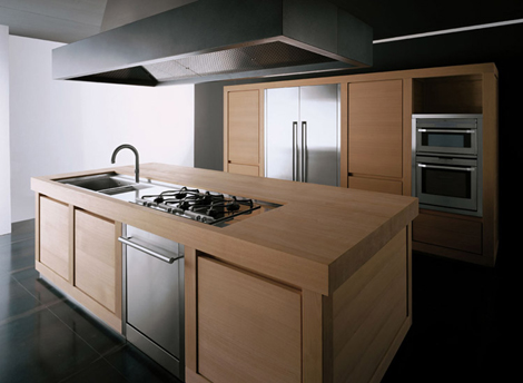 effeti kitchen 100 wood 1 Solid Wood Kitchen from Effeti   Wood 100% kitchen