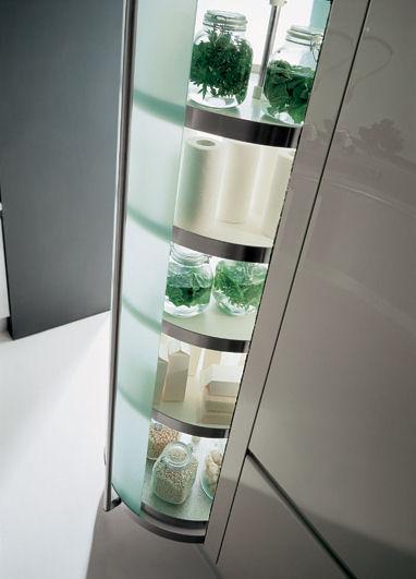 effeti misura kitchen cylindrical storage