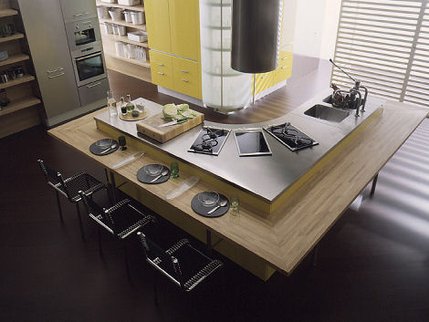 effeti misura laquered kitchen Modern Italian Kitchens from Effeti   new kitchen design trends