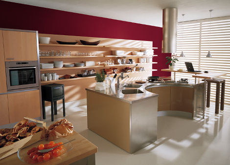 effeti misura wood kitchen Modern Italian Kitchens from Effeti   new kitchen design trends