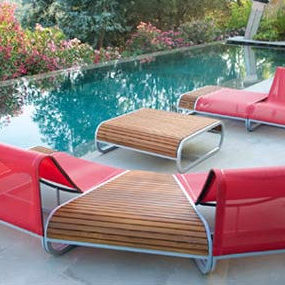 Ego Paris Outdoor furniture – the Tandem Collection