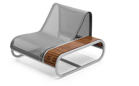 ego paris collection tandem left module Ego Paris Outdoor furniture   the Tandem Collection