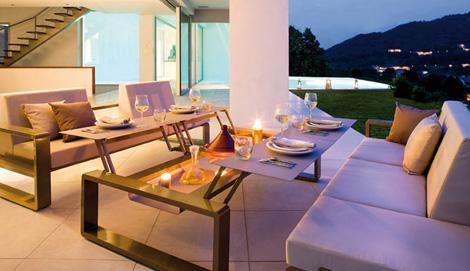 egoparis outdoor furniture kama 1 Chic Outdoor Furniture Collections   high end collection Kama by Egoparis