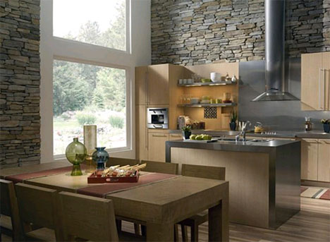 Great Eldorado Stone Clearwater Rustic Ledge Interior Stone Veneer By Eldorado  Stone Bring The Stone Inside!