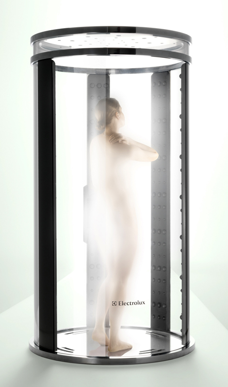 electrolux fog shower concept Fog Shower by Electrolux   eco friendly shower concept