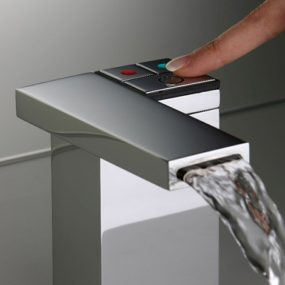 Electronic Faucet Feeling from Silfra – clean one touch operation