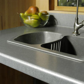 Green Countertops from Eleek – Recycled Aluminum Countertops and Tiles