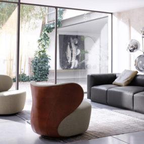 ElegantArmchair Bao by Walter Knoll