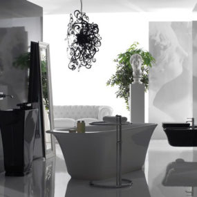 Elegant Bathroom Sets by Ceramica Globo – new Relais