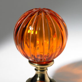 Elegant Hand-blown Crystal Drawer Knobs from Cristal Decors