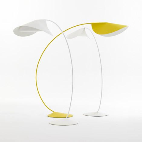 Elegant Floor Lamps – casual contemporary Circle lamp by De Padova