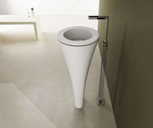 elegant pedestal wash basin cielo floot 2 Modern Pedestal Wash Basin by Cielo – Floot