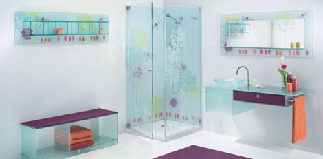 Superieur Elidur Glass Bathroom Grace 1