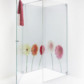 Printed Glass Bathroom by Elidur – Grace bathroom