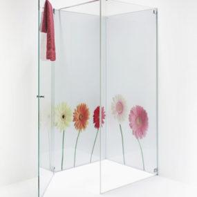 Printed Glass Bathroom by Elidur – Grace bathroom