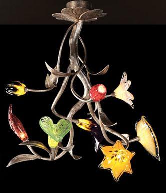 elk lighting bela iguazu collection Bela Iguazu collection from Elk Lighting   flower chandelier