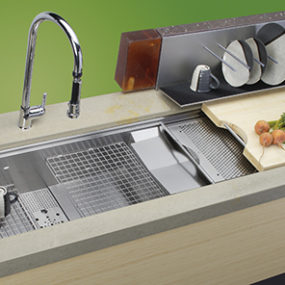 Food Preparation Sinks – Cascade sink design from Elkay