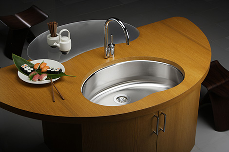 elkay mystic bean sink Elkay Mystic Bean Kitchen Sink   new Mystic sink