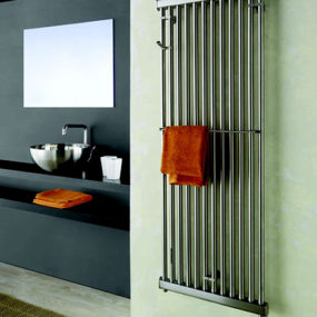 Wall Radiator from Emmesteel – contemporary home radiator in stainless steel