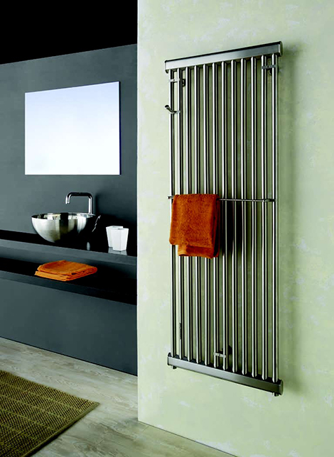 emmesteel sirio wall radiator Wall Radiator from Emmesteel   contemporary home radiator in stainless steel