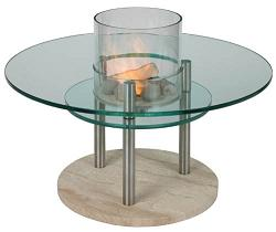 Glass Fire Table from Enerfoil Magnum