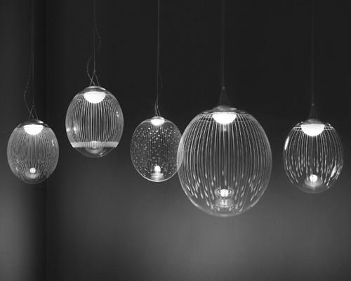 engraved crystal lighting atelier areti 1 Engraved Crystal Lighting by Atelier Areti