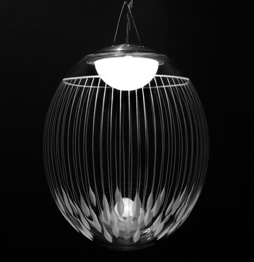 engraved crystal lighting atelier areti 3 Engraved Crystal Lighting by Atelier Areti