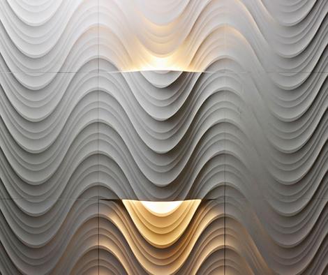 engraved stone walls lithos design 1 Engraved Stone Walls by Lithos Design