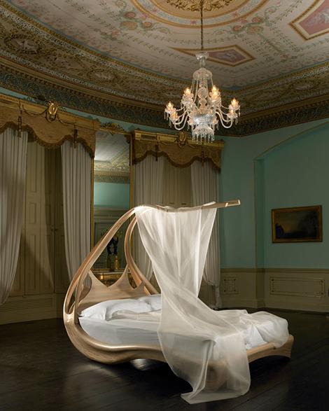 enignum canopybed joseph walsh Elegant Canopy Bed by Joseph Walsh   amazing Enignum