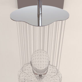 Ergonomic Shower Heads by Ponsi