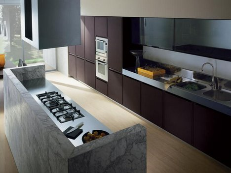 Modern European Kitchens The 7 Trendy Kitchen Designs From Ernestomeda Italy